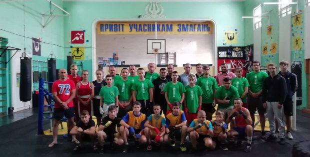 В Івано-Франківську пройшли навчально-тренувальні збори з Боксу