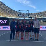 Франківськ-ПНУ здобуває друге місце на столичному етапі Суперліги 3х3
