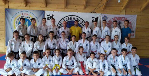 Івано-Франківські таеквондисти пройшли навчально-тренувальні збори