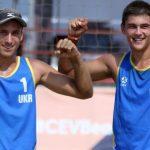 """Україна виграла """"золото"""" на юніорському Євро з пляжного волейболу серед хлопців"""