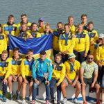 Збірна України з веслування завоювала 32 медалі на турнірі з веслування в Угорщині