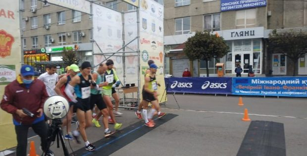 У Франківську почались міжнародні змагання зі спортивної ходьби