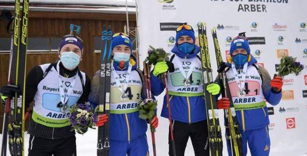 Збірна України з біатлону виборола друге місце у чоловічій естафеті на етапі Кубка IBU
