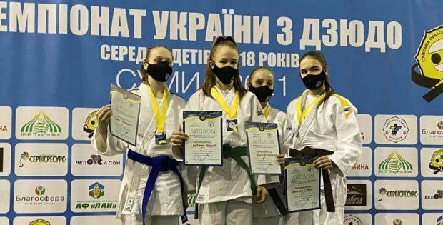 Прикарпатка виборола бронзову нагороду на чемпіонаті України з дзюдо