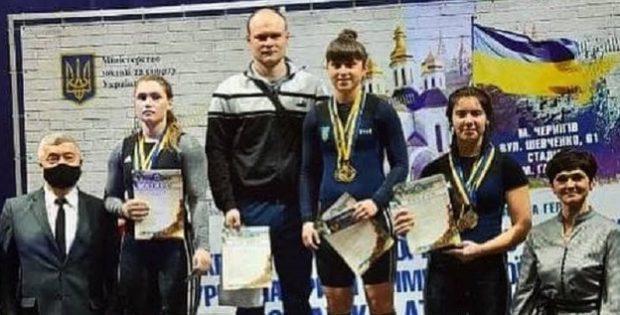 Прикарпатка стала чемпіонкою України з важкої атлетики
