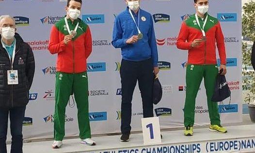 """Одразу три """"золота"""" на чемпіонаті Європи у приміщенні"""