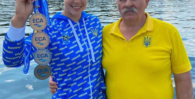 Вперше в історії українського веслування. Франківка виборола чотири медалі на чемпіонаті Європи