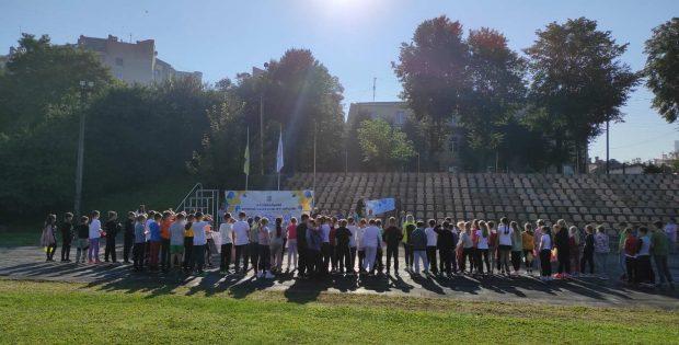 Олімпійський урок для учнів ліцею  ім.Р.Шухевича