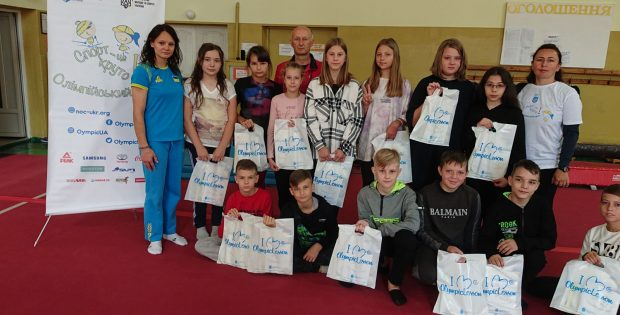 Олімпійський урок крокує Івано-Франківськими ліцеями.